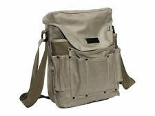 "Ducti ""Bunker"" Waxed Canvas Crossbody Messenger Bag - Metal Green"