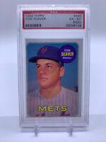 1969 Topps #480 Tom Seaver New York Mets HOF PSA 6 EX MT