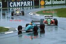 Mauricio Gugelmin Leyton House March 881 British Grand Prix 1988 Photograph 1