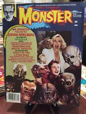 1985 Forrest J Ackerman's Monster Land Magazine #1 Spielberg and E.T.