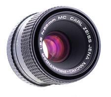 Carl Zeiss Jena Macro Prakticar 55 mm f 2,8 MC PB Bajonett SN:2189 Top Zustand