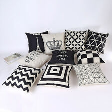 "Fashio Solid Nap Cushion Cover Home Decor Bed Sofa Throw Pillow Case 18""x18"""