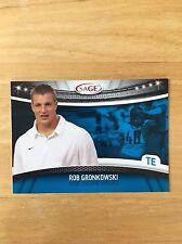 Rob Gronkowski 2008 Sage #23 NE Patriots Card NM/M Condition GRONK
