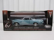 1:18 scale  Pontiac LeMans Coupe Highway 61 Collectibles Teal