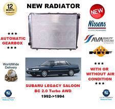 FOR SUBARU LEGACY SALOON BC 2.0 Turbo AWD 1992->1994 RADIATOR ** OE QUALITY **