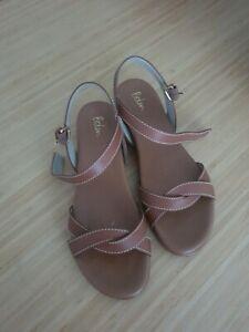 Boden Tan Sandals - Size 5