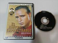 EL ROSTRO IMPENETRABLE MARLON BRANDO KARL MALDEN DVD ESPAÑOL ENGLISH REGION 2