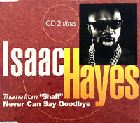 """Isaac Hayes Maxi CD Theme From """"Shaft"""" / Never Can Say Goodbye - Promo - France"""