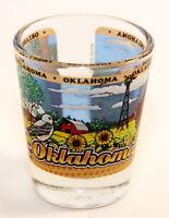 OKLAHOMA STATE WRAPAROUND SHOT GLASS SHOTGLASS