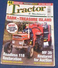 TRACTOR & MACHINERY MAY 2006 - SARK - TREASURE ISLAND/ROADLESS 118 RESTORATION