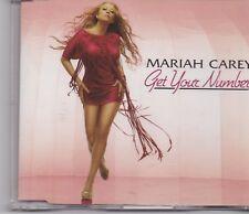 Mariah Carey-Get Your Number Promo cd single