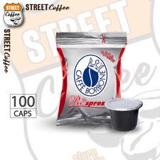 100 Cialde Capsule Caffè Borbone Respresso Miscela Rossa compatibile Nespresso