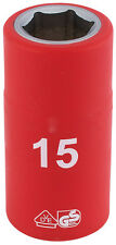 ORIGINAL DRAPER 1.3cm Carré Clé entièrement isolé VDE prise (15mm) 31835