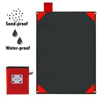 Sand-proof Outdoor Large Beach Camping Blanket Sand Free Magic Picnic Mat Pad AU