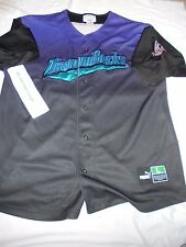 Arizona Diamondbacks Vintage Puma MLB Jersey Shirt Adult Large Baseball
