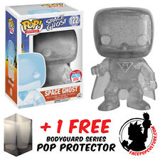 FUNKO POP SPACE GHOST INVISIBLE GHOST NYCC 2016 EXCLUSIVE + FREE POP PROTECTOR