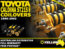 YELLOW-SPEED RACING COILOVERS Toyota Caldina ST215 96-02 4WD yellowspeed