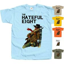 The Hateful Eight V3 western movie poster DTG Print T Shirt All sizes S-5XL