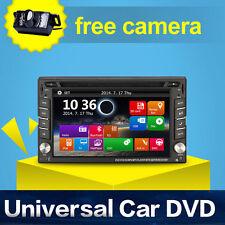 2 DIN In-Dash GPS NAVI AUTORADIO 6.2 Zoll Digital Auto DVD-Player USB Bluetooth