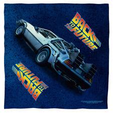 "Back To The Future Trilogy ""Delorean"" Bandana 22"" x 22"""