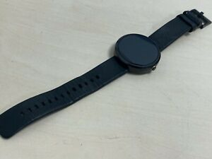 Motorola MOTO 360 Black Metal Smart Watch for Android (untested)