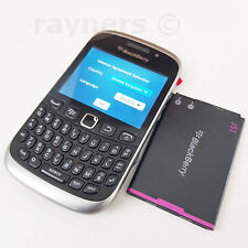 "Brand New Handset BlackBerry Curve 9320 Black Sim Free Qwerty 2.44"" OS7 2G 3G"