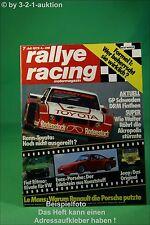 Rallye Racing 7/78 Evex Porsche Jeep CJ Fiat Ritmo + Poster