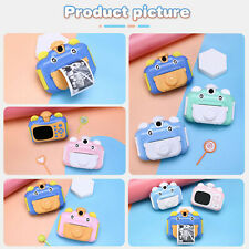 Instant Print Kids Camera for Children Video Photo Camera Toys with 32GB Card