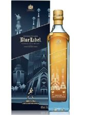 RARE SCOTCH WHISKY JOHNNIE WALKER BLUE LABEL BARCELLONA   EDITION 70 CL 40%
