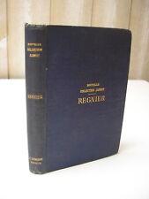 OEUVRES COMPLETES de REGNIER Lemerre 1874