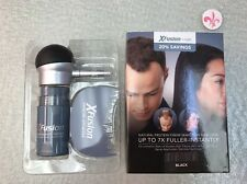 XFusion Fibers Natural Protein Thin Hair Filler Kit Black 15 gr. 0.53 oz