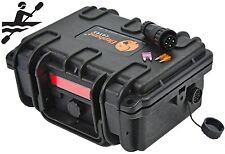 Elephant K095 Waterproof Battery Case box for Kayak boats Fish finder GPS Lights