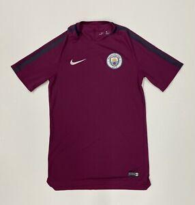 Manchester City Nike Training Jersey Size Small Shirt Mens Football Soccer