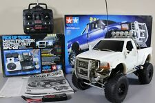 Tamiya 1/10 Ford F350 High Lift Truck+ MFC-02 light sound unit +Futaba +Upgrade