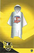 NRL Sydney Roosters Wet Weather Poncho Rain Coat
