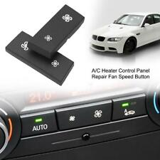 A/C Air Conditioning Control Panel Fan Speed Button Cover for BMW 1/3 Series X1