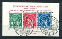 Luxus Berlin Währungsgeschädigten Block 1 gestempelt SST. Kiel - Mi. 2200,-