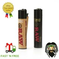RAW Clipper Lighters Gas Lighter Refillable Flint   RAW Smoking Papers