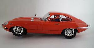 Ninco 50579 Jaguar E-type, Red road car, 1/32 Slot Car
