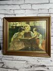 """Vintage Framed """"The Fairy Tale"""" By Walter Firle 17x14"""