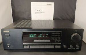 Onkyo TX-8211 Stereo Receiver 180 watts 2 channels