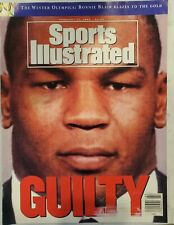 Sports Illustrated February 17, 1992 - Mike Tyson Guilty cover