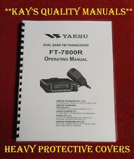 Highest Quality ~  Yaesu FT-7800R Operating Manual  ****C-MY OTHER MANUALS****