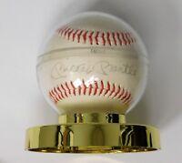 Autographed Baseball-Mickey Mantle-Bobby Richardson-Bill Mazeroski-Cleve Boyer