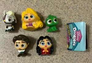 Disney Doorables Series 4 Complete Tangled Rapunzel Gothel Maximus Flynn Pascal