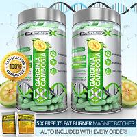 X2 STRONGEST LEGAL GARCINIA CAMBOGIA - SLIMMING / DIET & FAT BURNER PILLS
