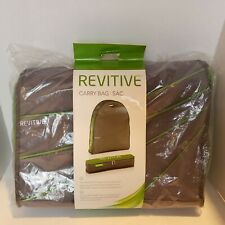 REVITIVE Circulation Booster Storage Case Bag for Device & Accessories * NEW