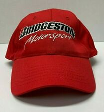 Bridgestone Motorsport Red Billed Ball Cap/Adjustable/Cotton/Hat Racing