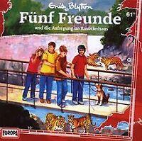 061/Und Die Aufregung Im Raubtierhaus von Fünf Freunde | CD | Zustand gut
