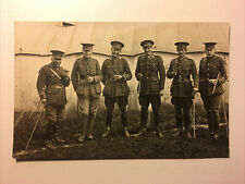 WW1 Postcard Manchester Regiment Officers Group